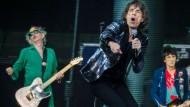 Rolling Stones spielen in der Berliner Waldbühne