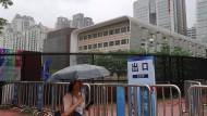 Das amerikanische Konsulat in der chinesischen Stadt Guangzhou