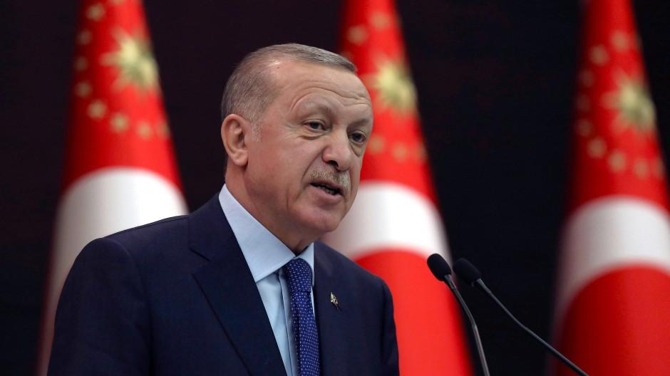 Recep Tayyip Erdogan ist Präsident der Türkei