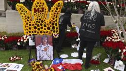 Fans gedenken Michael Jackson