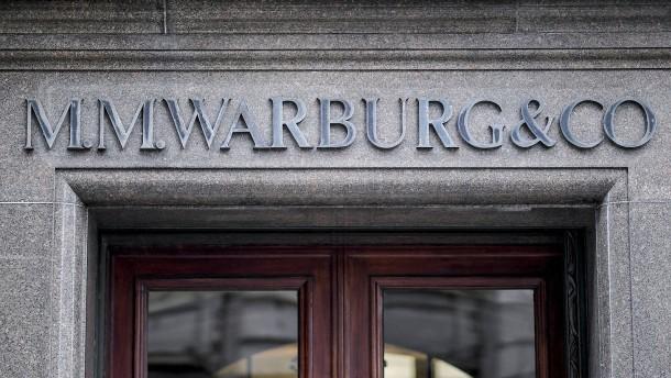 Warburg-Bank will keinen Einfluss auf SPD ausgeübt haben