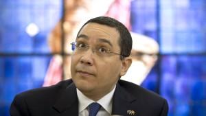 Rumänisches Parlament lehnt Aufhebung von Pontas Immunität ab