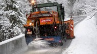 Schneefälle in Bayern läuten Winter ein