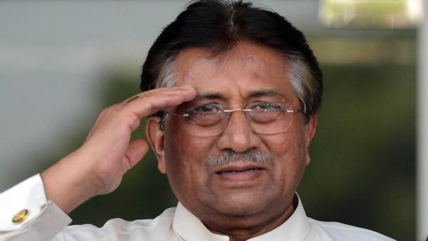 Musharraf vor Wahl aus Exil zurückgekehrt