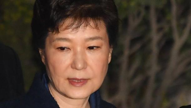 Haftbefehl gegen frühere Präsidentin Geun Hye