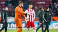 Enttäuschte Gesichter: Schon wieder verliert der 1. FC Köln in der Liga.