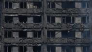 Was hat das Hochhaus in London entzündet?