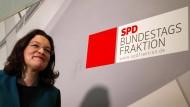 SPD wählt Andrea Nahles zur neuen Fraktionschefin
