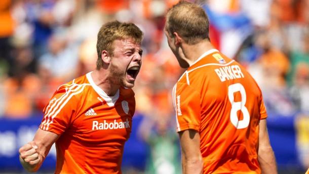Holland gegen Australien im WM-Finale