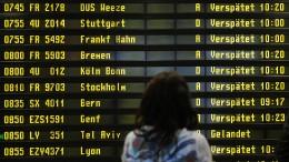 Rund 80 Flüge von Ausstand in Berlin betroffen