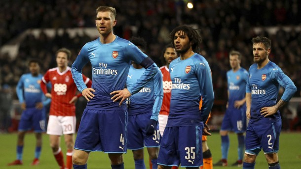Arsenal erlebt Pokalblamage in Nottingham