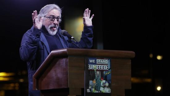 Hollywood-Stars protestieren gegen Trump