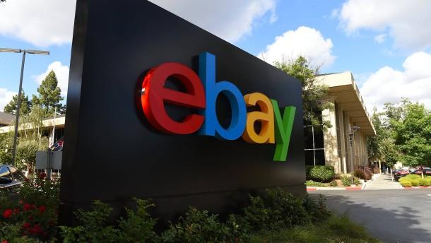 Ebay-Aktie stürzt ab