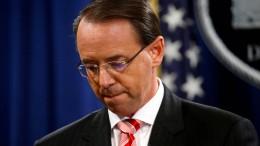 Rosenstein bleibt vorerst Vize-Justizminister