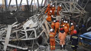 Dutzende Tote bei Unglück in chinesischem Kraftwerk