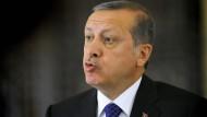 Sieht in den Äußerungen von Papst Franziskus Geschichtsfälschung: Recep Tayyip Erdogan