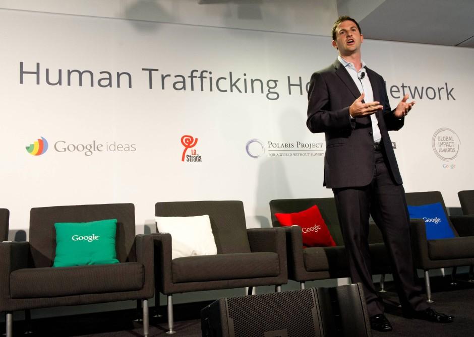 """Jared Cohen leitet bei Google die Abteilung """"Ideas"""". Gemeinsam mit Schmidt ..."""