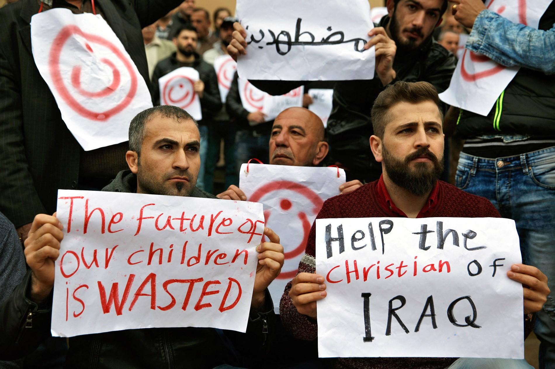 """Christenverfolgung im Irak: """"Ich muss doch meinen Leuten helfen"""""""