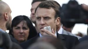 Überraschungsgast Marine Le Pen