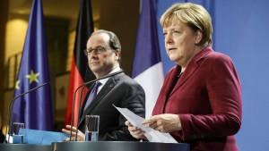 Merkel: Sehr harte Aussprache mit Putin