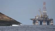 Petrobras-Ölbohrinsel vor Rio de Janeiro