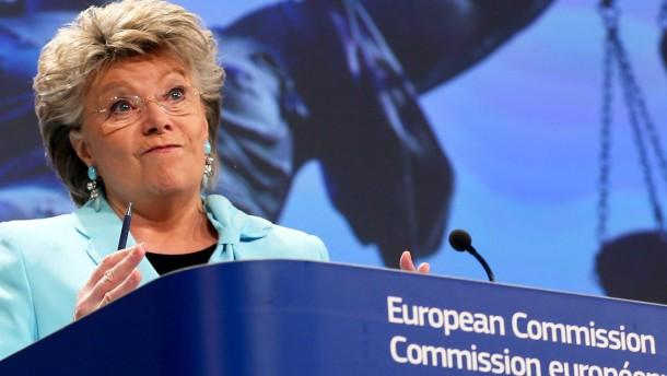 Auch Reding reist nicht nach Sotschi