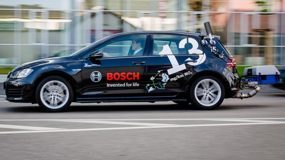 Bosch testet abgasarme Diesel-Technologie.