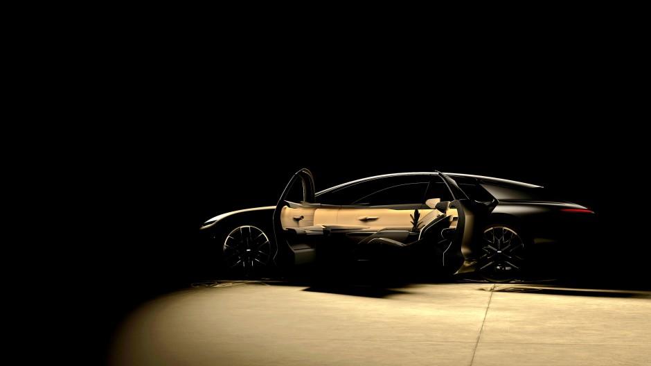 """Das """"Audi Grand Sphere Concept"""": Nicht nur der Name soll etwas hermachen."""