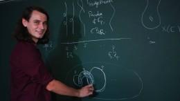 Super-Mathematiker mag ganze Zahlen