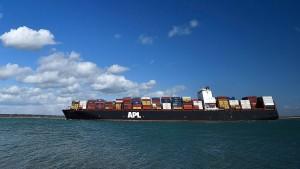 Frachter mit 410 Tonnen Sprengstoff gestoppt