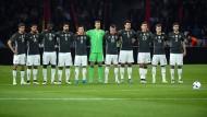 Deutschland gegen England: Schweigeminute vor dem Länderspiel