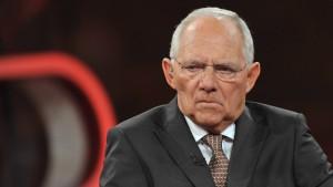 Wolfgang Schäuble ist gelassen und innerlich frei