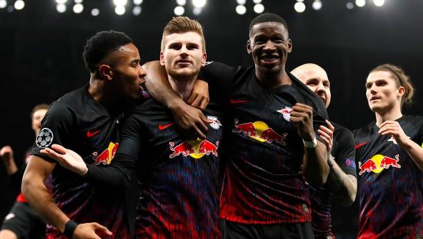 Werner lässt RB vom Viertelfinale träumen