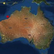 Rund 200 Kilometer westlich der australischen Stadt Broome bebte die Erde in einer Tiefe von zehn Kilometern.