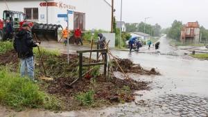 Unwettergefahr bleibt laut Wetterdienst hoch