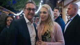 Will Strache eine eigene Partei gründen?