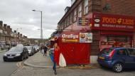 Little Romania: Ein rumänischer Supermarkt im Londoner Stadtteil Burnt Oak