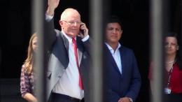 Perus Präsident Kuczynski tritt zurück