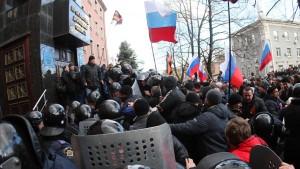 Angst vor einer russischen Invasion im Osten