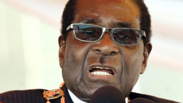 Mugabe empfiehlt seinen Gegnern Selbstmord