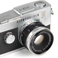 Olympus Pen F: Die analoge Halbformatkamera, die eine Spiegelreflexkamera Ist.