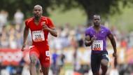 Starke Zeit: Asafa Powell (in rot)