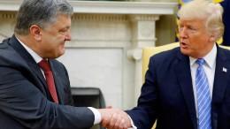 Ukrainischer Präsident soll für Treffen mit Trump bezahlt haben
