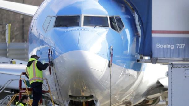 Boeing drosselt 737-Max-Produktion