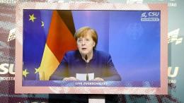 """Merkel """"wütend und traurig"""" über Bilder aus Amerika"""