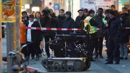 Gefährlicher Umschlag mit Schwarzpulver in Berliner Bank entdeckt