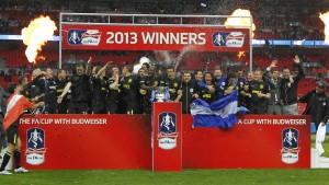 Wigan feiert das Wunder von Wembley