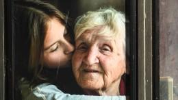 ... in dem ich meine Großmutter wieder umarmte