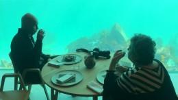 Erstes Unterwasserrestaurant Europas