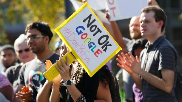 Google-Konzern wegen Verheimlichung sexueller Belästigungen verklagt